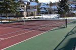 Tennis court open year-round down Fairway Drive
