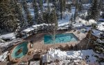 Outdoor Pool and Hot Tub Area Open Year-Round