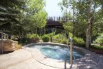 Lion Square Lodge Pool Open Year Round