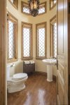 Powder Room off of Office