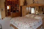 Master Suite, King Bed, TV, Office, En Suite Bath with Steam Shower