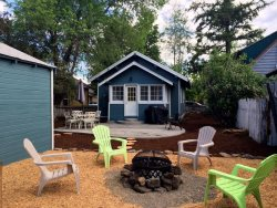 Relax at the cottage right by the river in this two bedroom home away from home!