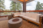 Enjoy the view of the Deschutes River on the back deck.