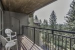 Private Deck with views of the Deschutes National Forest