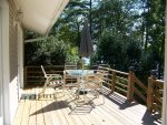 Furnished Deck off of Sunroom