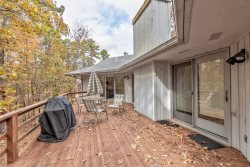 3 Balenciaga Way. Wooded Scenic view. HDTV, WIFI. A 2 bedroom, 2 bath, 1 level Vacation Rental home with carport in Hot Springs Village Arkansas Resort