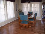 Formal Dining Room with Hardwood Floors