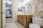 Master Bathroom and tub shower