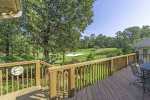 Deck View of golf course