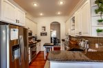 King Master Bedroom with view of golf course