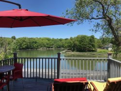 Elm Street | In town rental with wonderful views of the River