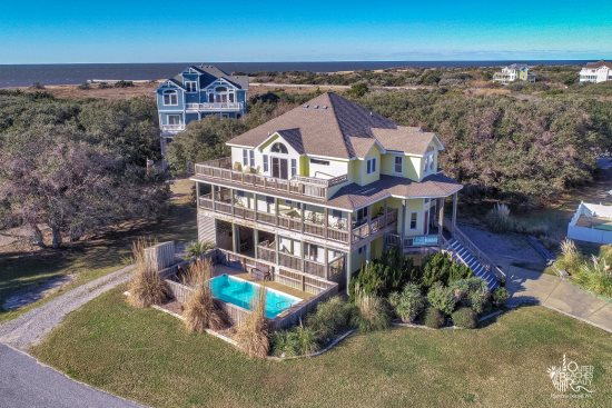 Outer Banks North Carolina Beach Rentals With Private Pool