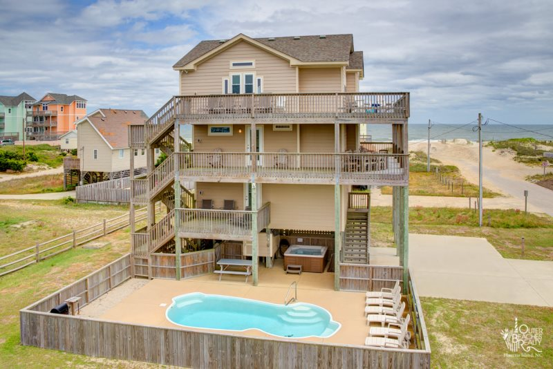 Remarkable Outer Beaches Realty Sunsets In Rodanthe 922 Home Interior And Landscaping Ponolsignezvosmurscom