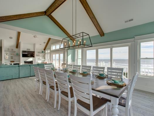 Avon NC Vacation Rental Dining Room