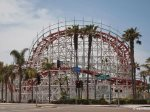 The historic amusement park Belmont Park in South Mission Beach