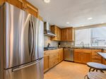 Cook up a storm with BRAND New Kitchen:  Granite Counter tops, Stainless Steel Appliances, Oven, Refrigerator, Dishwasher, Stove Top.
