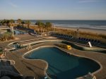 Oceanfront with many amenities