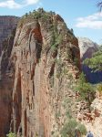 The final climb to Angels Landing in Zion National Park.