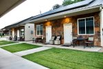 Zion`s Camp and Cottages is a complex of 4 vacation rentals and 24 bunkhouses located on three acres