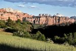 A view from the Kolob Canyon area
