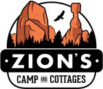 Zion`s camp has 24 bunkhouses and four two bedroom vacation rentals