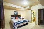 BASEMENT MASTER BEDROOM WITH KING BED
