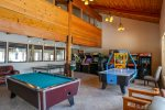 Large Game Room in the clubhouse