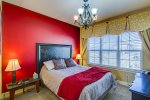 Nice Size Bedroom with Queen Bed, on suite full Bathroom and walk-n-closet