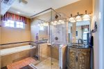 Gorgeous Master Bath with Jacuzzi Tub
