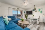 Newport Bay East #27,  Newly renovated, 2 bedrooms, Southern exposure on the waterfront balcony!
