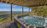 Enjoy the view from your personal hot tub.