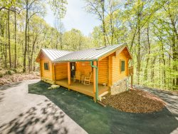 Ravenwood Cabin, Log Cabin In The Woods of Lookout Mountain, 50% Down To Reserve