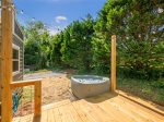 Did we mention you have your own, private hot tub