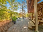 with views of Lookout Mountain and the surrounding farm and woods.