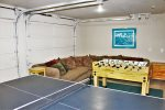 Downstairs Game Room Garage