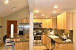 Walk in to a beautiful kitchen