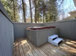 The Private Hot Tub on the Deck