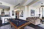 Full-sized Pool table great for entertaining
