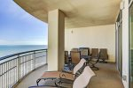 3 balconies for 3 gorgeous views of East beach, Gulf and Bay