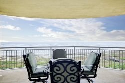 Largest of Balconies with endless ocean views East, South and West. | BC0606