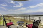 Beach balcony has endless views of the East end of the island. Enjoy scenic sunrises