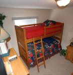 Bedroom 3 with Twin Bunk Beds