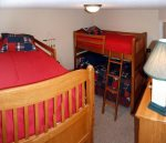 2 sets of Twin Bunk Beds