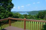 Gorgeous views of Norris Lake and the Cumberland Mountains