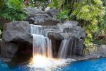 Pool Waterfall and Grotto