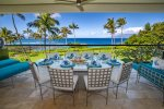 primary lanai with outdoor dinning area