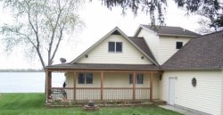 Wonderful 3+ bedroom/ 2 bath lakefront on West Canadian Lake!