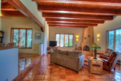 Beautiful Authentic Santa Fe Style Home With Incredible Views. - We are doing our part to ensure our guests safety by cleaning and disinfecting frequently touched surfaces to be pro-active to the COVD-19. Medical professionals, in-home quarantine and self