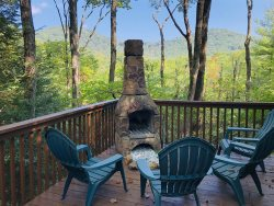 Cherokee Point:  Beautiful Mountain View, Hot Tub, Outdoor Chimenea Firepit