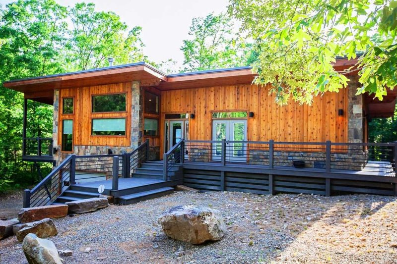 Wright On The Creek Beavers Bend Luxury Cabin Rentals